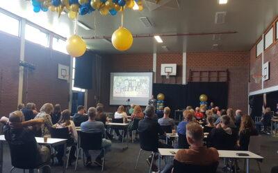 Primeurs tijdens diploma-uitreiking Maritieme Academie Harlingen