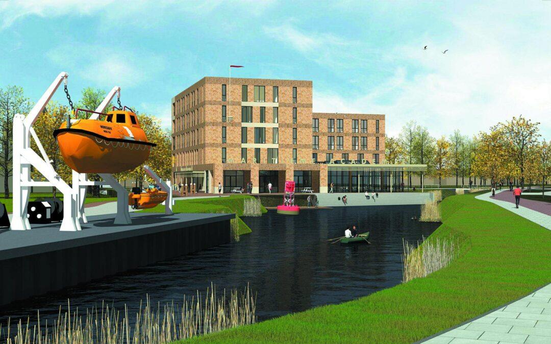 Maritieme Academie Harlingen krijgt groen licht voor bouw nieuwe huisvesting